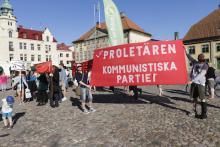 Kommunistiska partiet på Stortorget, 6 juni